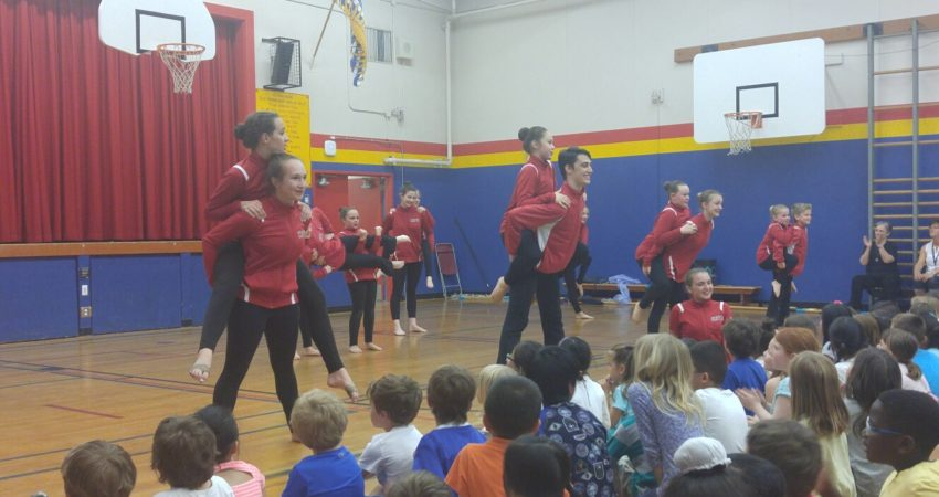 Stages Dance Company teaches Hillcrest how to Bust a Move…!