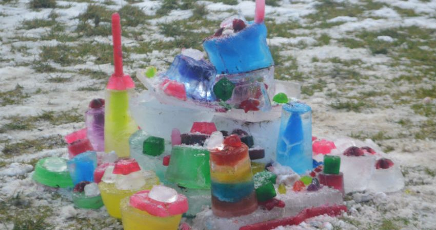 Ice Castles by Hillcrest Students