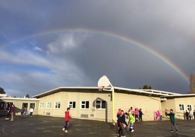 Rainbow over Hillcrest