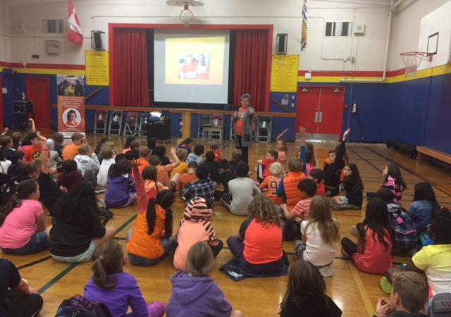 Orange Shirt Day with Phyllis Webstad