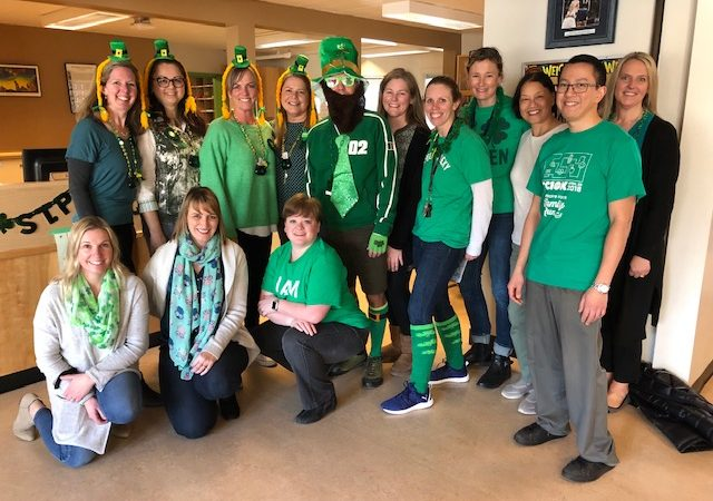 St. Patrick's Green Day at Hillcrest
