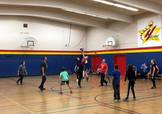 Staff vs Students Basketball