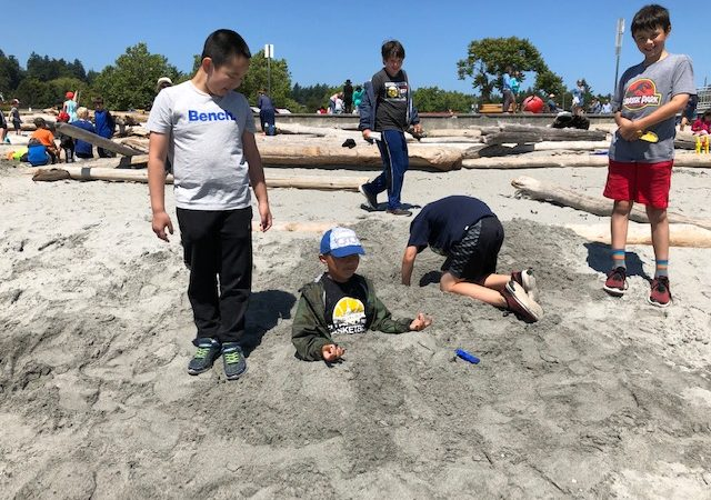 Whole School Beach Day at Gyro Park 2019