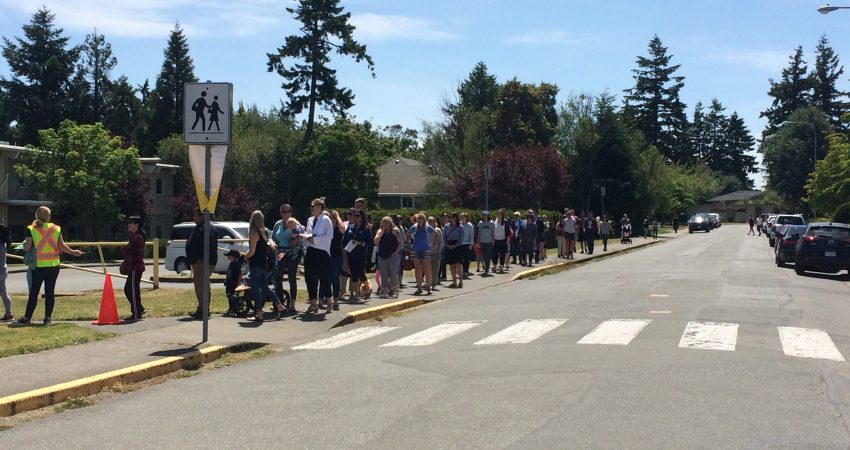 SD61 Reunification Drill at Hillcrest Elementary